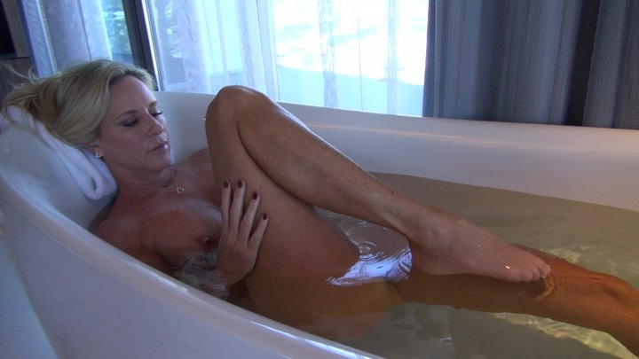 Jodi West -  Bathtime Masturbation  image.