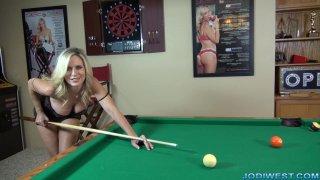 Jodi West -  Pool Table Jerk Off Instructions