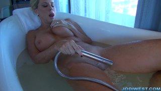 Jodi West -  Bathtime Masturbation