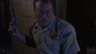 Streaming porn video still #4 from Camp Cuddly Pines Powertool Massacre