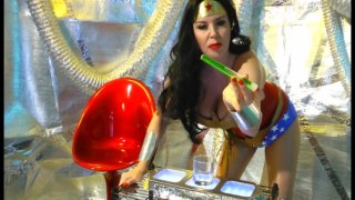 Streaming porn video still #13 from Wonder Woman Sexed-Up!