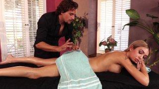 Streaming porn video still #2 from Latina Massage