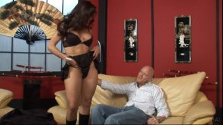 Streaming porn video still #1 from Transsexual Babysitters 2