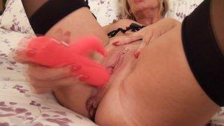 Streaming porn video still #8 from Mature British Lesbians #1