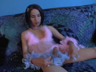 Streaming porn video still #4 from She-Male Strokers 21