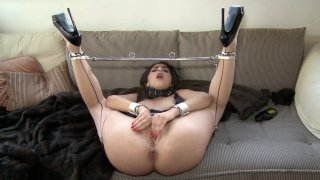 Streaming porn video still #9 from Taboo Teens: Paddled & Plugged