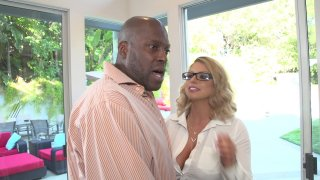 Streaming porn video still #1 from Lexington Steele's Massive White Tits