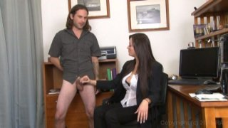 Streaming porn video still #4 from Monsters Of Jizz Vol. 33: Clothed Female Nude Male