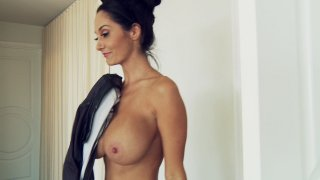 Streaming porn video still #2 from Big Tits In Uniform 14