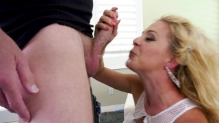 Streaming porn video still #4 from LeWood Gangbang: Battle Of The MILFs 2