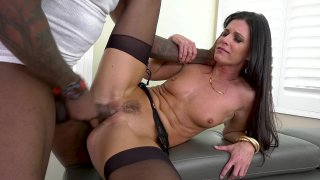 Streaming porn video still #3 from LeWood Gangbang: Battle Of The MILFs 2