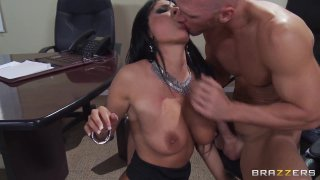 Streaming porn video still #7 from Big Tits At Work Vol. 19
