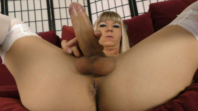 Streaming porn video still #1 from She-Male Strokers 82