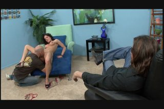 Streaming porn video still #3 from Fuck My Wife Like The Whore She Is!