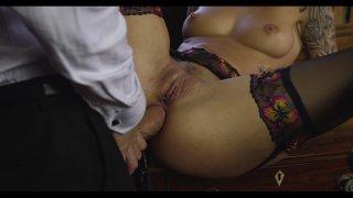 Streaming porn video still #8 from Sherlock: A XXX Parody