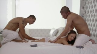 Streaming porn video still #7 from My Wife's Threesome Fantasy