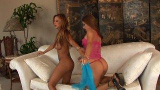 Streaming porn video still #2 from Licking Latina Lesbians