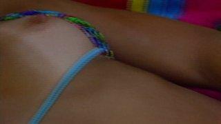 Streaming porn video still #8 from Licking Latina Lesbians