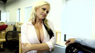 Streaming porn video still #1 from Big Tit Office Chicks
