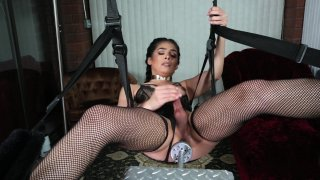 Streaming porn video still #8 from Bob's TGirls And Their Fucking Machines 3