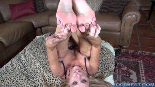 Jodi West - Foot Worship