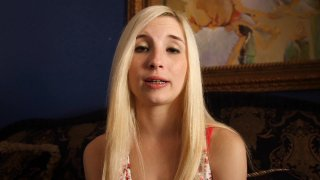Streaming porn video still #6 from Teen Blowjob Auditions 4