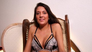 Streaming porn video still #11 from Teen Blowjob Auditions 4
