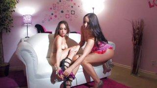 Streaming porn video still #2 from Naughty Stepsisters Vol. 2