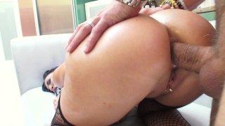 Streaming porn video still #9 from Big Tit Anal MILFs #2