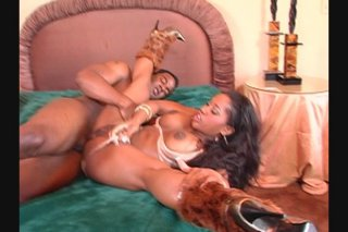 Streaming porn video still #7 from Ebony Paradise