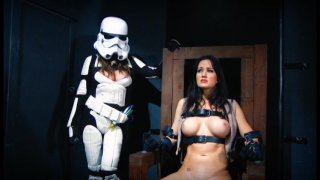Streaming porn video still #12 from Rogue One: A Fetish Parody