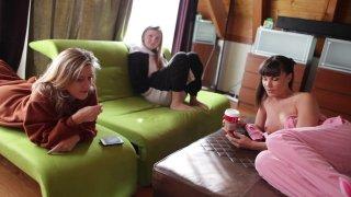 Streaming porn video still #9 from Aiden Riley's Girl Train 3