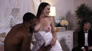 Streaming porn video still #1 from Interracial Wedding Night Cuckold
