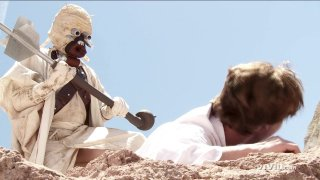 Streaming porn video still #3 from Star Wars XXX: A Porn Parody