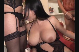 Streaming porn video still #3 from I Was Gang Banged By Trannies 6