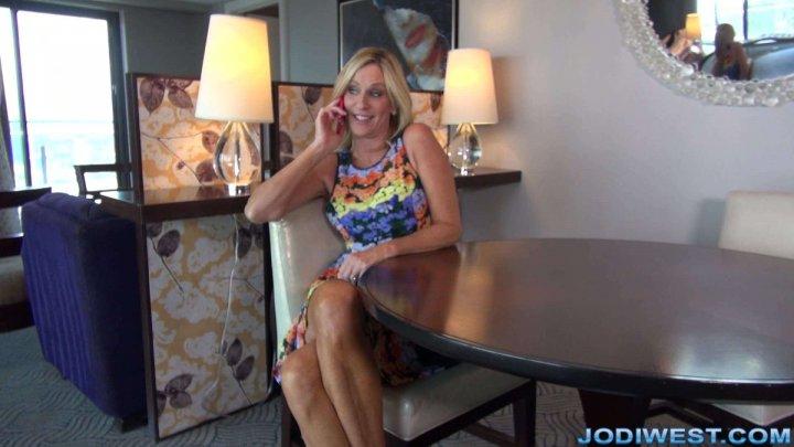 Jodi West talk dirty to her daughters boyfriend