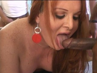 Streaming porn video still #7 from Shemale Gang Bang, A