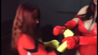Streaming porn video still #3 from Scarlet Witch 2: VS Ms. Marvel And Spiderwoman