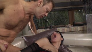 Streaming porn video still #8 from Slutty Girls Love Rocco 7