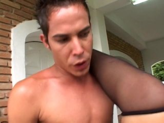 Streaming porn video still #6 from Fuck My Transsexual Bubble Butt #2
