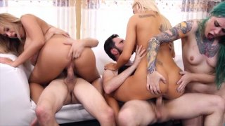 Streaming porn video still #4 from Orgy Frenzy 2