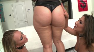 Streaming porn video still #2 from Big Booty Tryouts