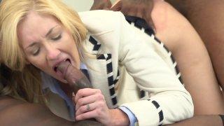 Streaming porn video still #8 from Interracial Threesomes