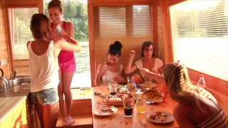 Streaming porn video still #2 from House Boat Full Of Teens