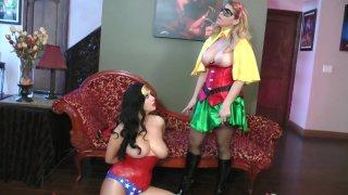 Streaming porn video still #5 from Wonder Woman