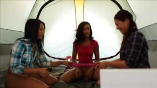 Streaming porn video still #2 from Belladonna's Girl Train 2