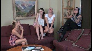 Streaming porn video still #2 from Naughty Babysitter Club