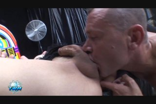 Streaming porn video still #2 from World's Biggest Transsexual Cocks, The