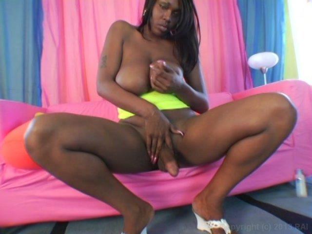 Streaming porn video still #1 from Black Tranny Whackers 4