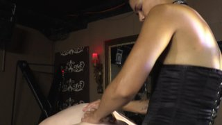 Streaming porn video still #4 from Strapdomme 2: Bound For Pegging